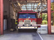 Charleston, SC Fire House, Daniel Island. Stock Photos
