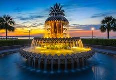 Free Charleston, SC Pineapple Fountain Stock Image - 115979381