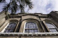 Charleston SC pożarniczej firmy Niemiecki budynek Fotografia Royalty Free