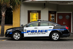Charleston, SC, police cruiser. Royalty Free Stock Photos