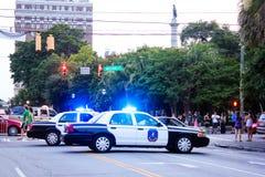 Charleston SC-polisen Royaltyfri Fotografi