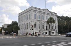 Charleston SC, Sierpień 7th: Historyczni budynki od Charleston w Południowa Karolina Obrazy Stock