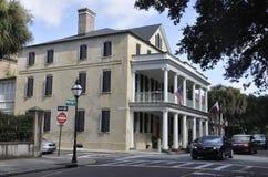 Charleston SC, Sierpień 7th: Historyczni budynki od Charleston w Południowa Karolina Fotografia Stock
