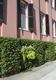 Charleston SC, Sierpień 7th: Historyczni domów szczegóły od Charleston w Południowa Karolina Obrazy Royalty Free