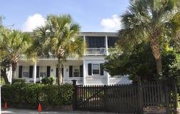 Charleston SC, Sierpień 7th: Historyczny dom od Charleston w Południowa Karolina Zdjęcie Royalty Free
