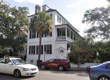 Charleston SC, Sierpień 7th: Historyczny dom od Charleston w Południowa Karolina Fotografia Stock