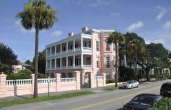 Charleston SC, Sierpień 7th: Historyczny dom od Charleston w Południowa Karolina Obrazy Royalty Free