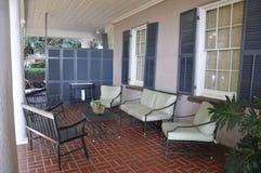 Charleston SC, Sierpień 7th: Podwórze Historyczny kolonisty dom od Charleston w Południowa Karolina Fotografia Royalty Free