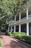 Charleston SC, Sierpień 7th: Podwórze Historyczny kolonisty dom od Charleston w Południowa Karolina Obrazy Royalty Free