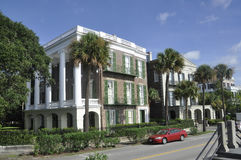 Charleston SC, Sierpień 7th: Uliczny widok od Charleston w Południowa Karolina Obrazy Stock