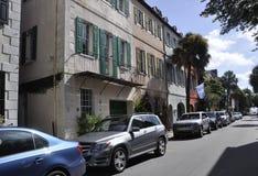 Charleston SC, Sierpień 7th: Uliczny widok od Charleston w Południowa Karolina Zdjęcie Royalty Free