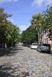 Charleston SC, Sierpień 7th: Uliczny widok od Charleston w Południowa Karolina Obraz Royalty Free