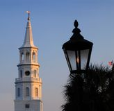 Charleston scene Royalty Free Stock Photos