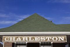 Charleston sign Royalty Free Stock Images