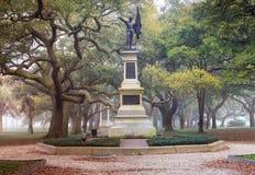 Charleston South Carolina Battery Park Fotografie Stock