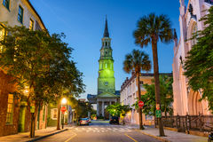 Charleston South Carolina French Quarter Stock Images