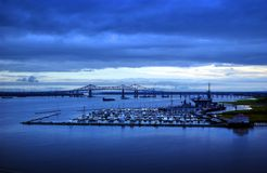 Charleston South Carolina Harbor Stock Image