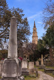 Charleston South Carolina Historic Haunted Cemetery Royalty Free Stock Photography