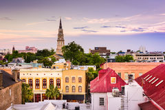 Charleston South Carolina Skyline Stock Photography