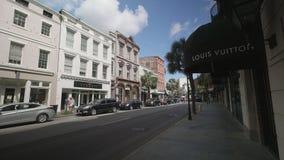 Charleston/South Carolina/USA arkivfilmer