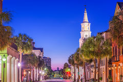 Charleston, South Carolina, USA. Town cityscape royalty free stock image
