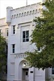 Charleston, South Carolina/Vereinigte Staaten - 10. November 2018: Die Zitadelle ist ein historisches Wahrzeichen lizenzfreie stockbilder
