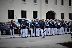 Charleston, South Carolina/Vereinigte Staaten - 10. November 2018: Die Zitadelle ist ein historisches Wahrzeichen lizenzfreies stockbild