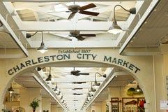 Charleston-Stadt-Markt Stockfotografie