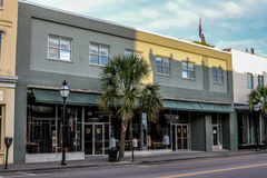 Charleston Stitch, King St, Charleston, RI. Royalty Free Stock Photos