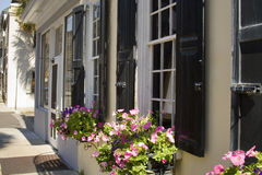 Charleston street scene Royalty Free Stock Images