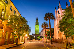 Charleston Street Scene Royalty Free Stock Photo