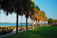 Charleston Waterfront Park Stock Photo