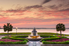 Charleston at Waterfront Park Royalty Free Stock Photos