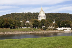 Charleston, West Virginia - edifício do Capitólio do estado Fotos de Stock