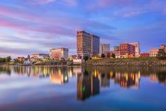 Charleston West Virginia horisont fotografering för bildbyråer