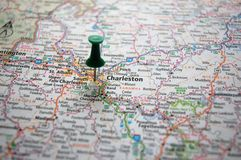 Charleston, West Virginia royalty free stock photos