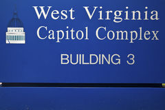 Charleston, West Virginia - State Capitol Building Stock Photo