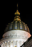 Charleston West Virginia - statlig Kapitoliumbyggnad Royaltyfria Foton