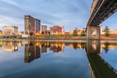 Charleston, West Virginia, USA Skyline stock photo