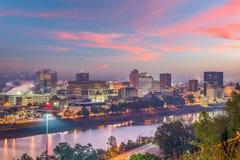 Charleston, West Virginia, USA Skyline royalty free stock photo
