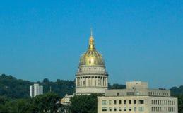 CharlestonWV-Kapitolium arkivfoton