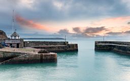 Charlestown in Cornwall Royalty Free Stock Photography
