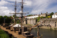 Charlestown, Cornwall, Great Britain Stock Photos