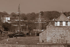 Charlestown Harbour Royalty Free Stock Photo
