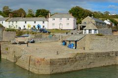 Charlestown Harbour in Cornwall, England Royalty Free Stock Photography