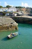 Charlestown Harbour, Cornwall, England Royalty Free Stock Image