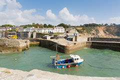 Charlestown Harbour Cornwall England UK Near St Austell Royalty Free Stock Image