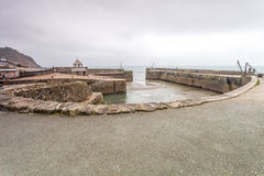 Charlestown Harbour in Cornwall England UK Royalty Free Stock Photography