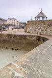 Charlestown Harbour in Cornwall England UK Stock Photo