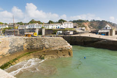 Charlestown harbour Cornwall England UK in summer Stock Photography